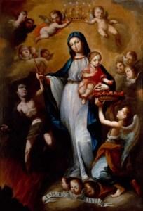 Juan Pedro López, (1724–1787) Nuestra Señora de La Luz [Our Lady of the Light] Oil on canvas 193 x 132.1cm