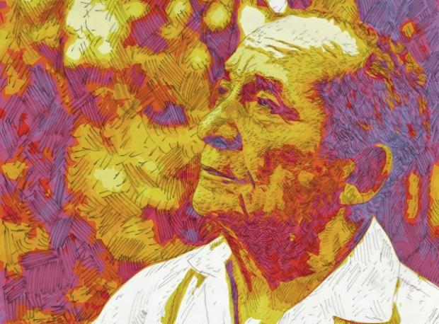Luis Mariano Rivera por Alfredo Rajoy. En albaciudadorg, 18 de agosto de 2014.
