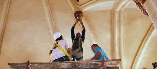 Restauración de la iglesia de San Rafael de El Mojan, en Mara - Zulia