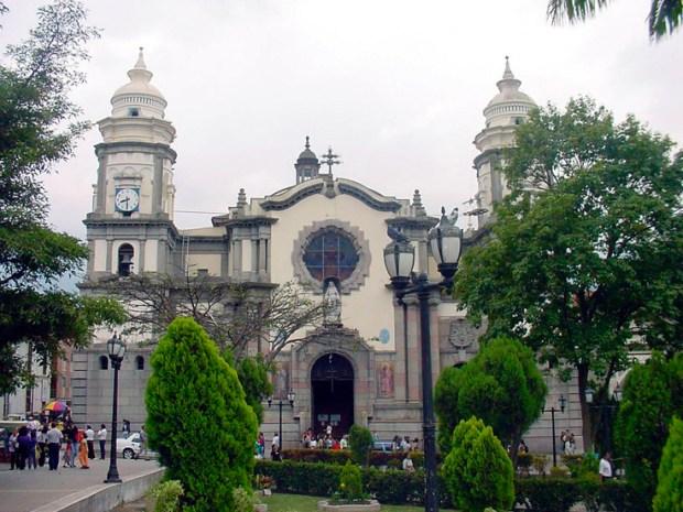 Catedral de Mérida, proyecto de 1945, de Manuel Mujica Millán.