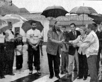Inauguración del enlace vial Germán Briceño Ferrigni. Mérida, Venezuela. Foto Antonio Porras. Fuente Frontera, 22-7-2000. Dig. Samuel Hurtado C.