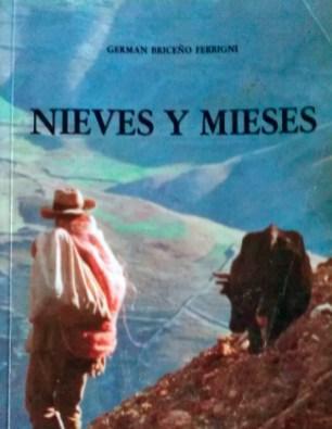 Portada del libro Nieves y mieses, de Germán Briceño Ferrigni. Dig. Samuel Hurtado Camargo.