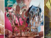 Corona de la Virgen del Valle, recuperada por pescadores 10 años después de haber sido robada. Foto pescadores de Chacopata, Sucre. (Twitter)