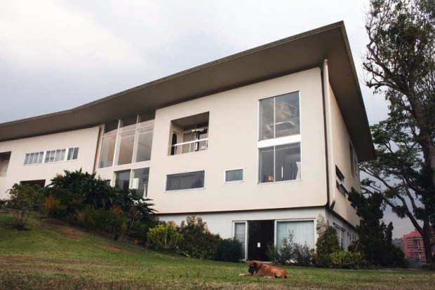 Fachada principal de Villa Planchart. Foto en Arquitecturayempresaes, agosto 2018.