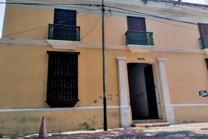 Fachada del Centro de Historia Larense. Foto Katherine Nieto_El Impulso, agosto de 2019.