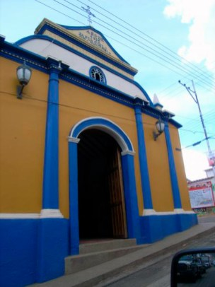 Frontis de la Capilla de la Virgen del Carmen. Foto en Wikimapia