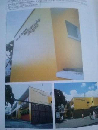 """La """"Casa de talleres"""" del Mujabo cuando fue restaurada. Foto del libro """"Memorias del museo""""."""
