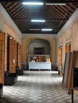 Vista de los Espacios Protocolares, hacia la entrada y recepción del Instituto de Patrimonio Cultural. Foto: Eduardo Tovar Zamora.