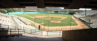 Vista interior del estadio. Foto Juan C. Hernández.