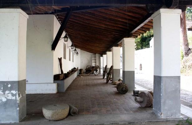 Corredor del Museo de la Caña de Azúcar. Foto Alvarphoto.,