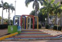 Su diseño es piramidal. Foto Nueva Prensa de Guayana.