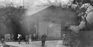La antigua estación ferroviaria de La Victoria.