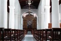 Nave principal de la catedral Nuestra Señora de La Asunción, del estado Nueva Esparta.