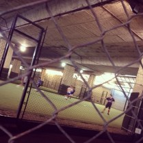 futsal under the highway. buenos aires.