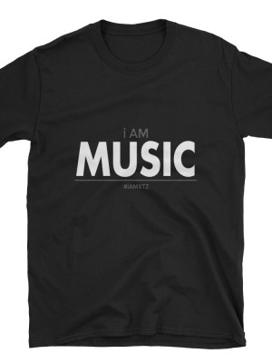 i AM Music Short-Sleeve Unisex T-Shirt