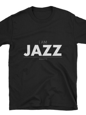 i AM Jazz Short-Sleeve Unisex T-Shirt