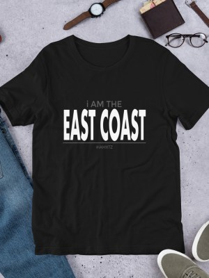i AM the East Coast Short-Sleeve Unisex T-Shirt