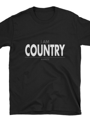 i AM Country Short-Sleeve Unisex T-Shirt