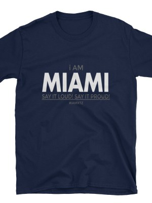 i AM Miami Short-Sleeve Unisex T-Shirt