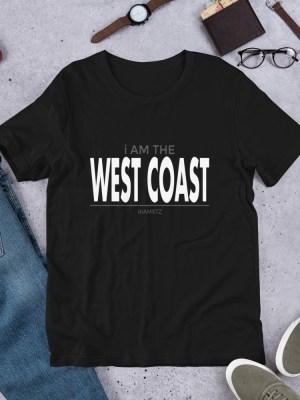 i Am The West Coast Short-Sleeve Unisex T-Shirt
