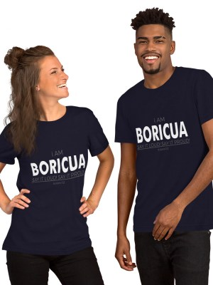i AM Boricua Short-Sleeve Unisex T-Shirt