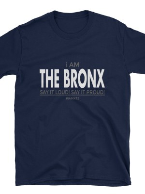 i AM The Bronx Short-Sleeve Unisex T-Shirt