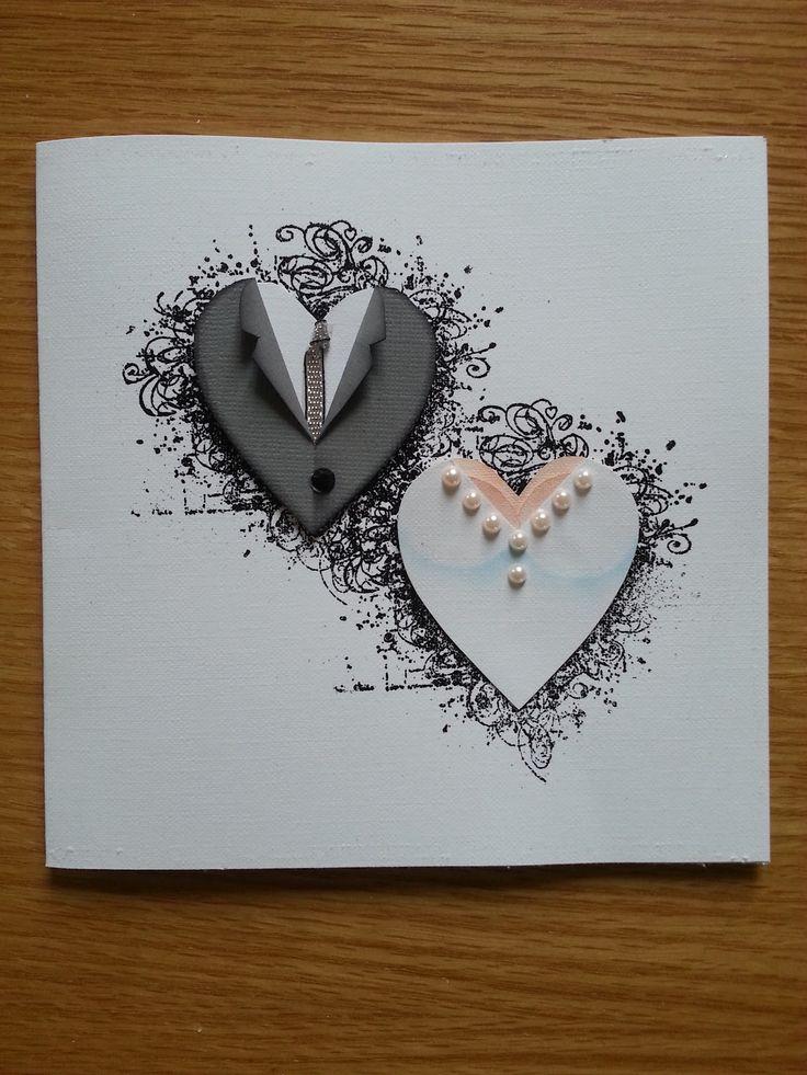 creative handmade wedding card ideas