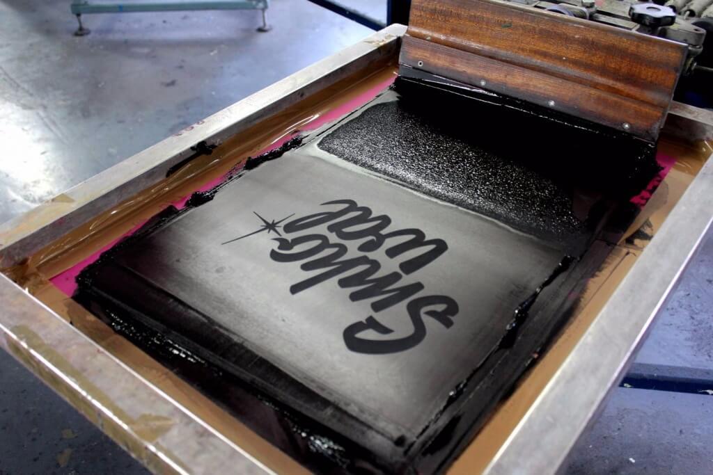 Screen Printing at 3rd Rail