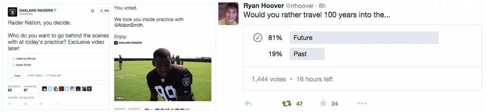Twitter Poll Example