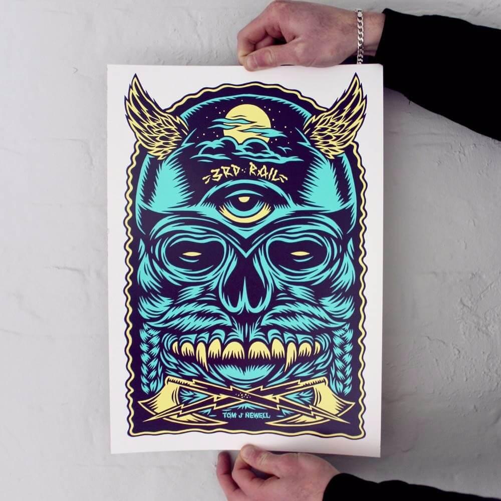 Tom J Newell Screen Print