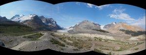 Athabasca Glacier Pan 1