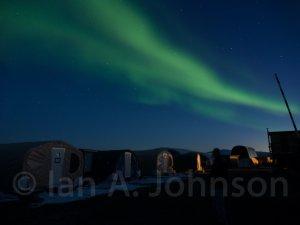 Aurora Borealis over Toolik Field Station.