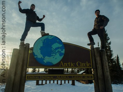 Making progress! We conquered the Arctic Circle!