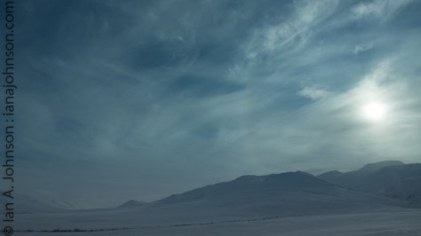 Sundog over Chandlar shelf