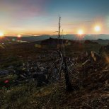 June 21st : Solstice at Finger Mountain, Alaska