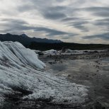 July 6th : Looking back at Matanuska Glacier