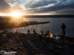 July 7th : Fishing at sunset in Homer, Alaska