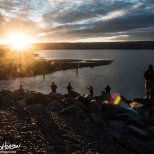 July 7th : Fishing at sunset in Homer, Alaska