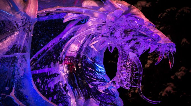 Night Divine at the 2015 World Ice Art Competition