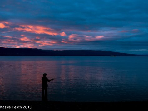 Fishing Hole Sunset, Homer, Alaska