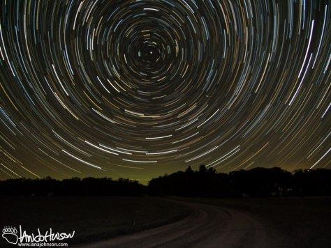 Starlapse and Aurora