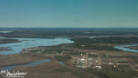 Fort Yukon Aerial