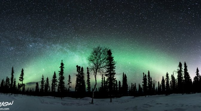 The Galaxy Rises in Alaska