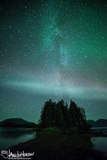 Proton Arc, Aurora Borealis, Hoonah, Alaska