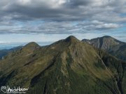 Flight, Sitka, Fly, Harris Air, Hoonah, Mountains, Ocean