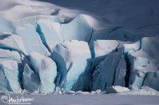 Mendehall Galicer, Juneau, Ice Caves, Blue Ice