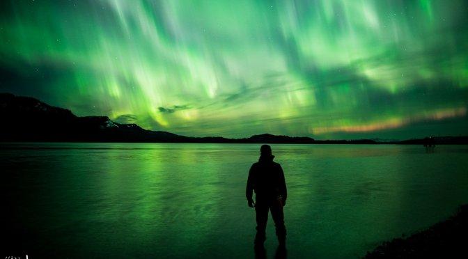 Ocean Biolumination and the Aurora Borealis