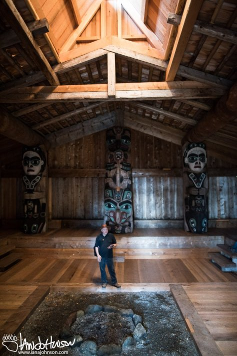 Kasaan Totem Park, Whale House, Kasaan