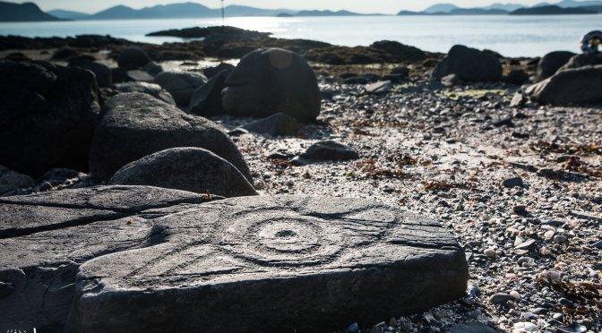 Wrangell, Alaska, Petroglyph Beach, Historic Site, Petroglyph