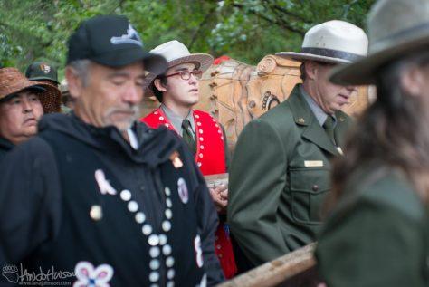 Healing Pole, Glacier National Park, Alaska, Huna Tlingit, Hoonah Indian Association